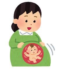 赤ちゃんお腹の中